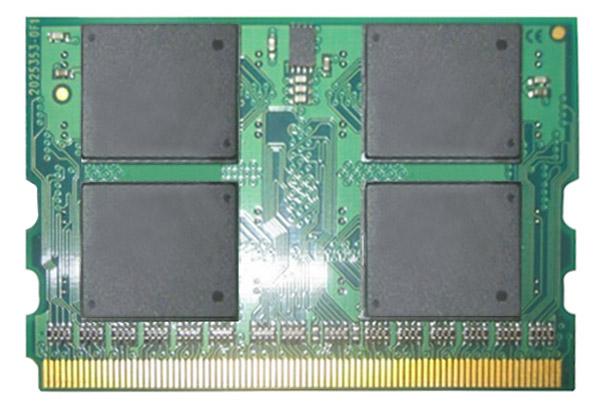 Fujitsu 1GB PC2-4200 DDR2-533MHz non-ECC Unbuffered CL3 172-Pin Micro-DIMM Memory Module Mfr P/N FPCEM315AP
