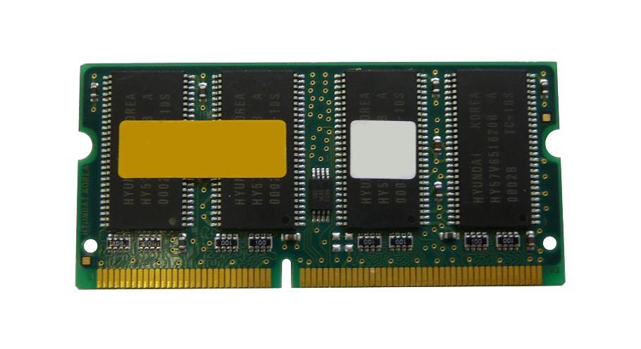 SimpleTech 128MB PC133 133MHz non-ECC Unbuffered CL3 144-Pin SoDimm Memory Module Mfr P/N STG572/128