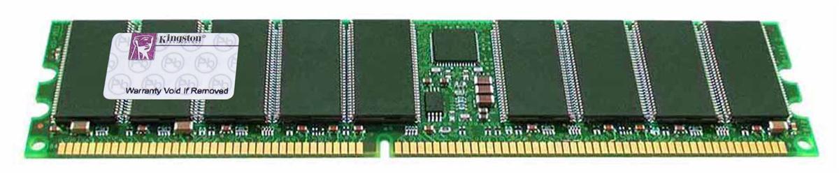 Kingston 1GB Kit (4 x 256MB) PC2100 DDR-266MHz ECC Registered CL2.5 184-Pin DIMM Memory Mfr P/N KTD-PE4600/1G