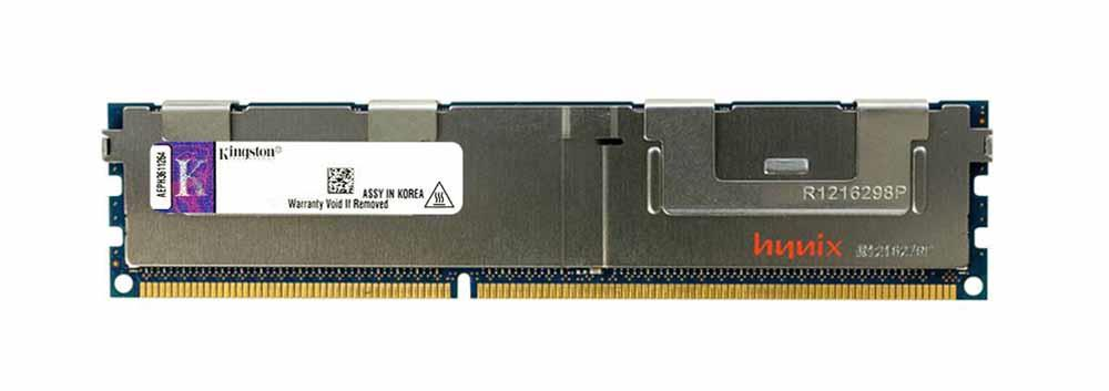 KVR13LR9D4/16 Kingston 16GB PC3-10600 DDR3-1333MHz ECC Registered CL9 240-Pin DIMM 1.35V Low Voltage Dual Rank x4 Memory Module