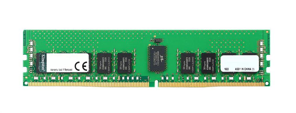 KSM26RD8/8HBR Kingston 8GB PC4-21300 DDR4-2666MHz ECC Registered CL19 288-Pin DIMM 1.2V Dual Rank Memory Module