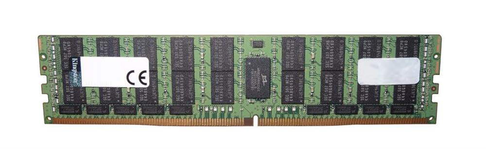 KSM26LQ4/64HAM Kingston 64GB PC4-21300 DDR4-2666MHz ECC Registered CL19 288-Pin Load Reduced DIMM 1.2V Quad Rank Memory Module (Hynix A Montage)