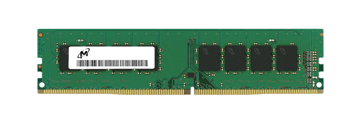 MTA4ATF51264AZ-2G6B1 Micron 4GB PC4-21300 DDR4-2666MHz non-ECC Unbuffered CL19 288-Pin DIMM 1.2V Single Rank Memory Module