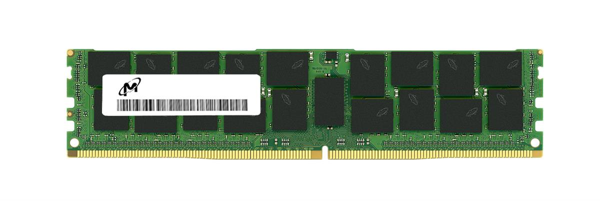 MTA72ASS8G72PSZ-2S6G1QI Micron 64GB PC4-21300 DDR4-2666MHz Registered ECC CL19 288-Pin DIMM 1.2V Quad Rank Memory Module