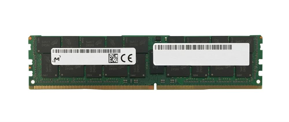 MTA144ASQ16G72LSZ-2S9 Micron 128GB PC4-23400 DDR4-2933MHz Registered ECC CL21 288-Pin Load Reduced DIMM 1.2V Octal Rank Memory Module