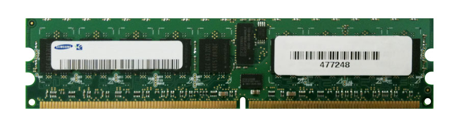 M4L-PC2800RD2S86D-256M M4L Certified 256MB 800MHz DDR2 PC2-6400 Reg ECC CL6 240-Pin Single Rank x8 DIMM