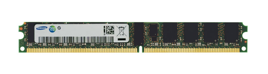 M4L-PC2667RD2S85DV-512M M4L Certified 512MB 667MHz DDR2 PC2-5300 Reg ECC CL5 240-Pin Single Rank x8 VLP DIMM