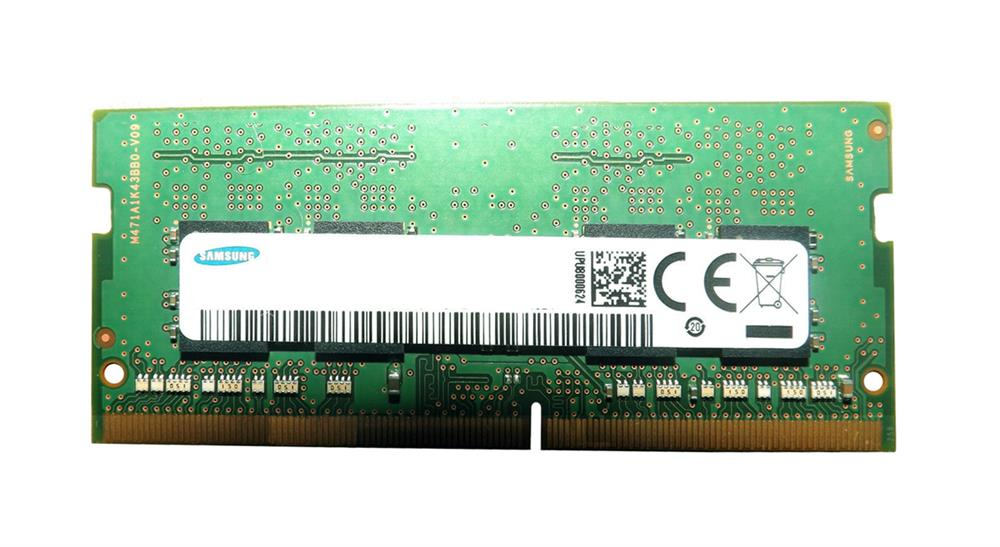 M471A2K43BB1-CRC Samsung 16GB PC4-19200 DDR4-2400MHz non-ECC Unbuffered CL17 260-Pin SoDimm 1.2V Dual Rank Memory Module