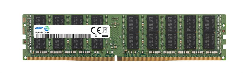 M386AAK40B40-CWD Samsung 128GB PC4-21300 DDR4-2666MHz ECC Registered CL19 288-Pin Load Reduced DIMM 1.2V Octal Rank Memory Module