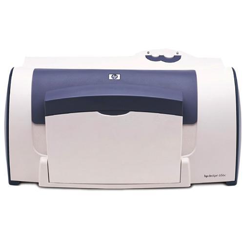 HP DeskJet 656c Color InkJet Printer 6ppm 150-Sheets 600dpi x 600dpi 512KB Memory USB (Refurbished) Mfr P/N C8942A