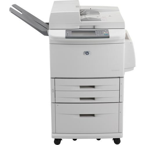 HP LaserJet M9050 Multifunction Printer Monochrome 50 ppm Mono 600 x 600 dpi Printer, Copier, Scanner (Refurbished) Mfr P/N CC395A