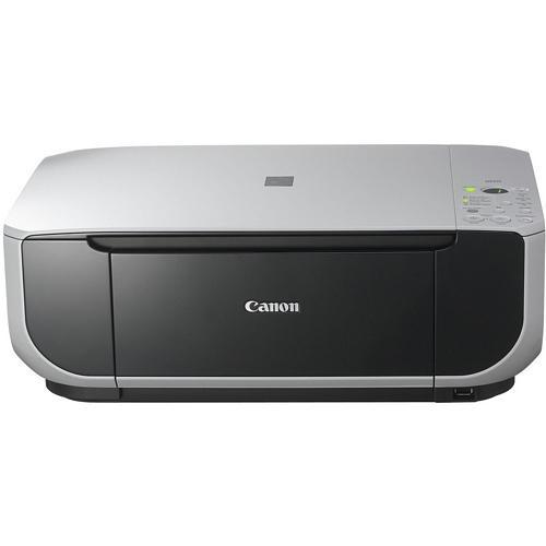 Canon PIXMAMultifunction Photo Printer Color 22 ppm Mono 17 ppm Color 46 Second Photo 4800 x 1200 dpi Scanner Copier Printer USB PictBridge (Refurbished) Mfr P/N MP210
