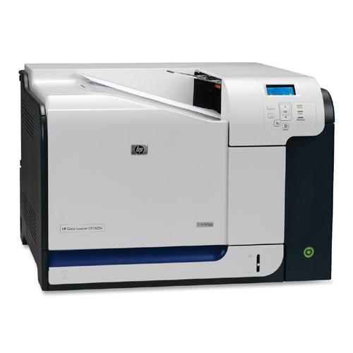HP Color LaserJet CP3525n Printer 30-ppm 350-Sheets 1200dpi x 600dpi Wired USB Ethernet 1000Base-T (Refurbished) Mfr P/N CC469A