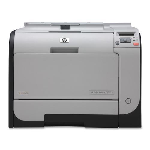 HP Color LaserJet CP2025dn Color Laser Printer 21-ppm, 300-Sheets, 600dpi 128MB Memory, Ethernet (Refurbished) Mfr P/N CB495A