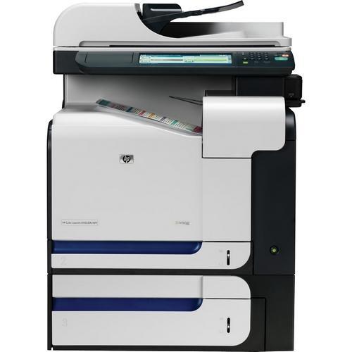 HP Color LaserJet CM3530FS MFP Color Laser Printer Fax/Copier/Printer/Scanner 600dpi x 600dpi 31ppm 350 Sheets Hi-Speed USB 1000 Base-T Ethernet (Refurbished) Mfr P/N CC520A