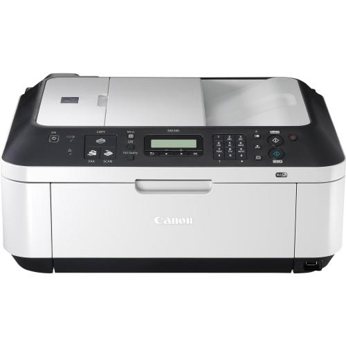 how to connect canon mx340 printer to wifi