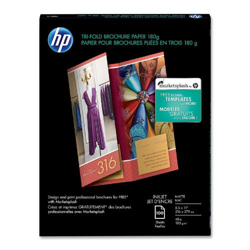 hp tri fold brochure template - q5443a hp printer