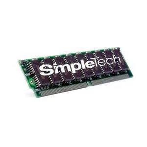 SimpleTech 64MB Kit (2 X 32MB) EDO non-Parity 72-Pin SIMM Memory Mfr P/N STV-CGL/64