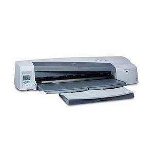 HP DesignJet 110-Plus Color InkJet Printer (Refurbished) Mfr P/N C7796D