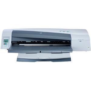 HP DesignJet 110Plus NR Inkjet Large Format Printer 24 Color 90 Second Color 1200 x 600 dpi Fast Ethernet USB Floor Standing Supported (Refurbished) Mfr P/N C7796E
