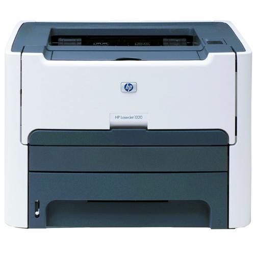 HP LaserJet 1320 B/W Laser Printer 22ppm 250 Sheets 1200dpi x 1200dpi Legal Parallel USB (Refurbished) Mfr P/N Q5927A