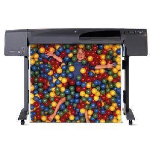 HP DesignJet 800PS PostScript InkJet Large Format Printer 42 Color 85 ft/hr Color 2400 x 1200 dpi Fast Ethernet USB Floor Standing Supported (Refurbished) Mfr P/N C7780C