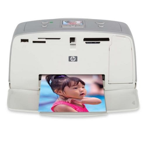 HP PhotoSmart 325 Photo Printer Color 45 Second Photo 4800 x 1200 dpi USB PC, Mac (Refurbished) Mfr P/N Q3414A