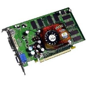 256-P2-N369-TX EVGA GeForce 6600 256MB DDR PCI Express x16 S-Video/ DVI/ VGA Video Graphics Card