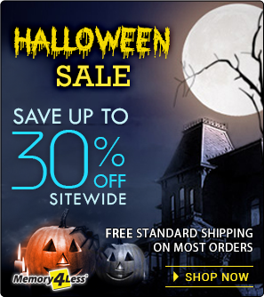 Halloween Discount on all orders plus standard free shipping