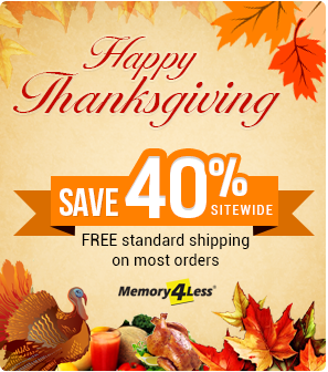 Thanksgiving Discount on all orders plus standard free shipping