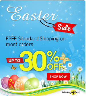 Easter Discount on all orders plus standard free shipping