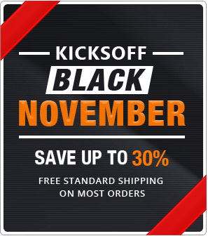 Black November Discount on all orders plus standard free shipping