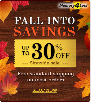 Fall Savings Discount on all orders plus standard free shipping