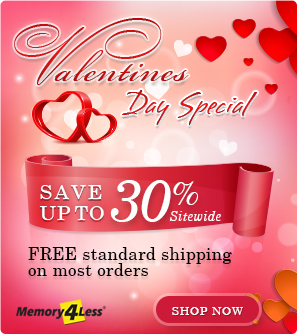 Valentine's Day Discount on all orders plus standard free shipping