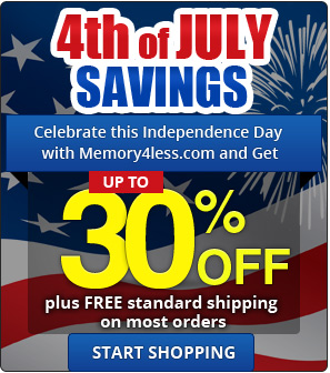 Independence Day Discount on all orders plus standard free shipping